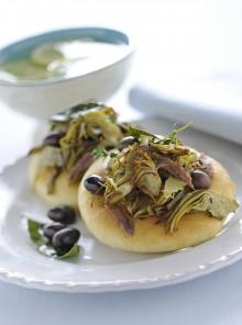 Focaccette con le olive