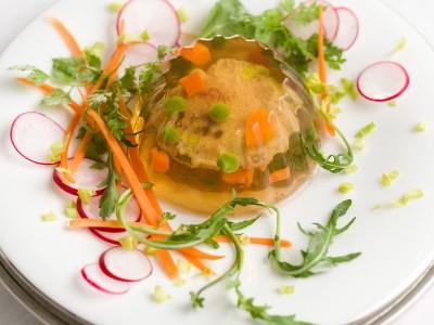 Ricetta piccoli aspic con verdure