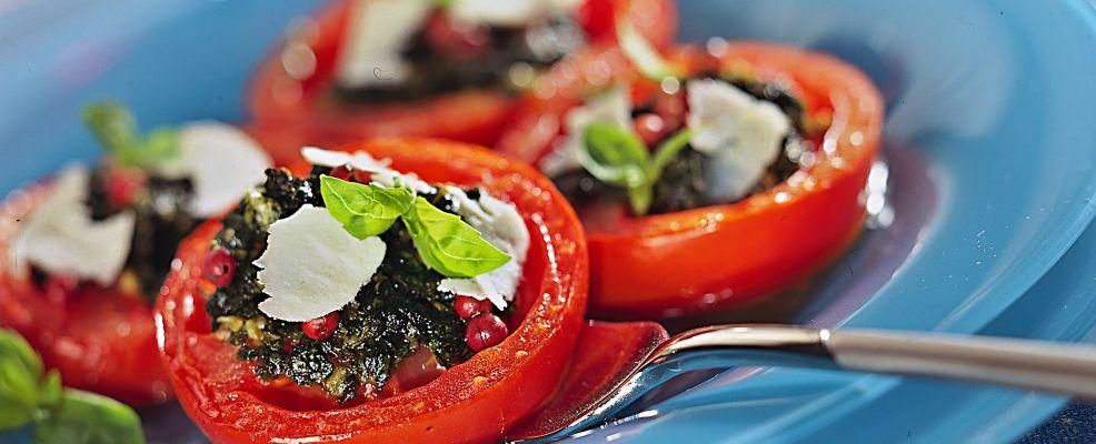 Barchette pomodori e ricotta Sale&Pepe