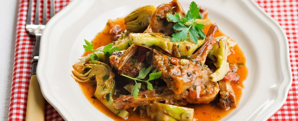 Bracioline carciofi Sale&Pepe ricetta