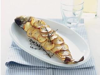 Branzino in crosta Sale&Pepe ricetta