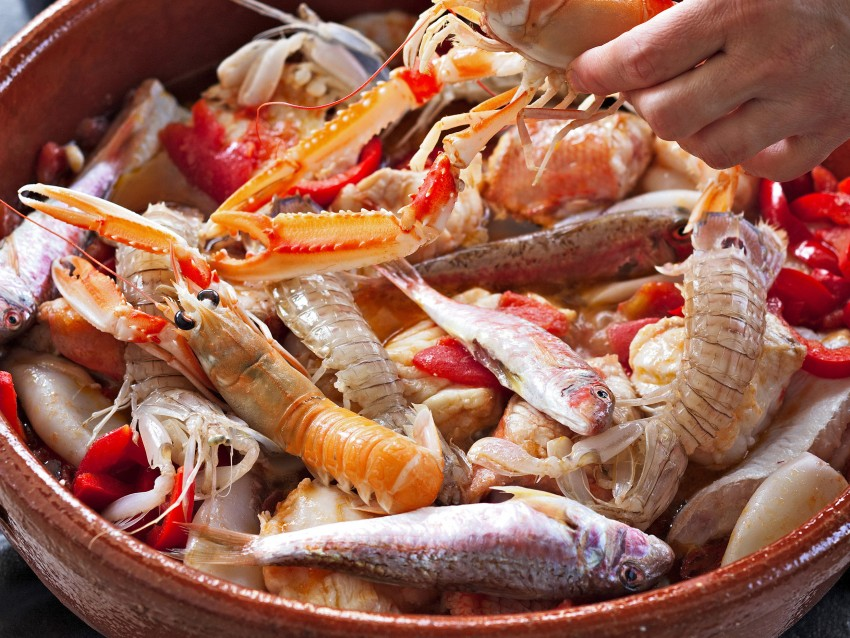 Brodetto di pesce Sale&Pepe preparazione