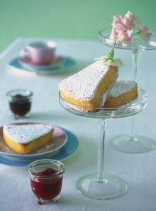Campanelle di torta paradiso