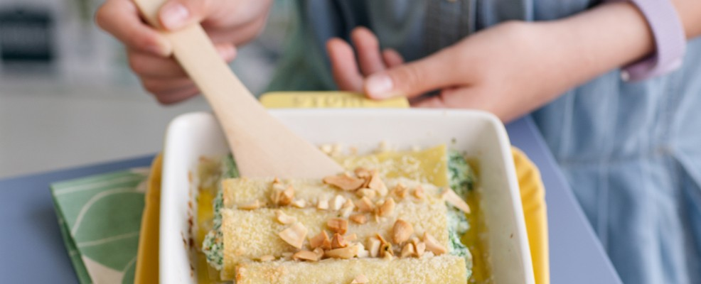 Ricetta cannelloni in verde Sale&Pepe