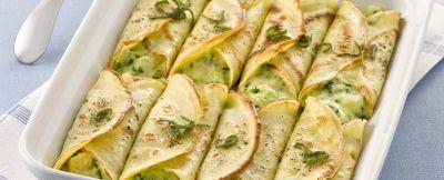 Crespelle con verdure ricetta