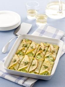 Cannelloni di crespelle con verdure