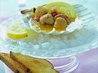 Capesante in salsa al limone Sale&Pepe