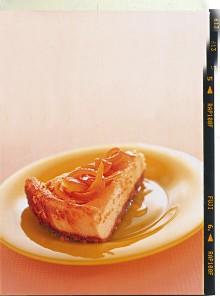 Cheesecake al profumo d'arancia