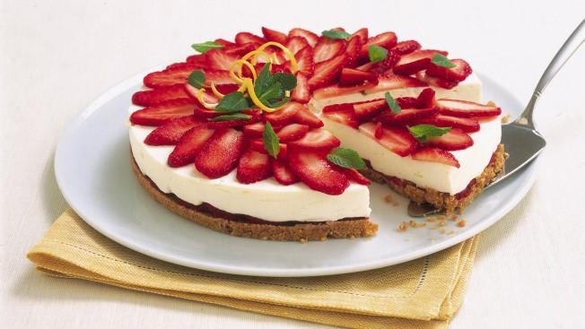 Cheesecake di fragole Sale&Pepe