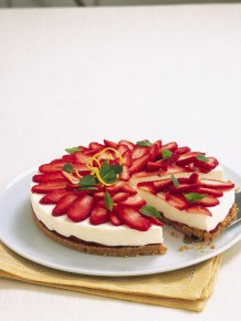 Cheesecake di fragole Sale&Pepe