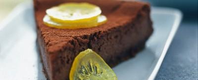 Cheesecake fresco limone foto