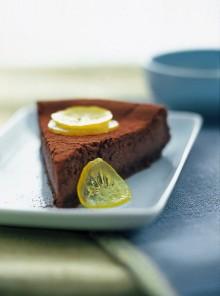 Cheesecake al cacao e limone