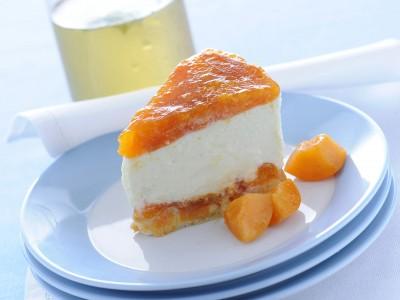 Cheesecake albicocche