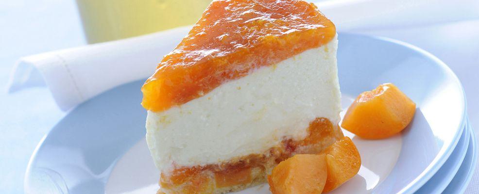Cheesecake di ricotta e albicocche al  Sale&Pepe