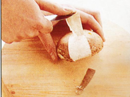 Pulire funghi champignon Sale&Pepe