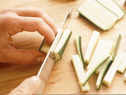 Pulire le zucchine Sale&Pepe