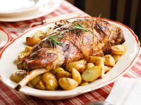 cosciotto al forno con le patate Sale&Pepe ricetta