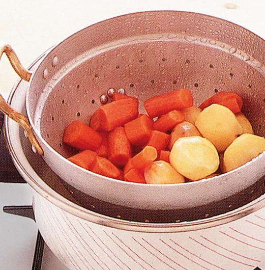 Verdure a vapore cottura Sale&Pepe