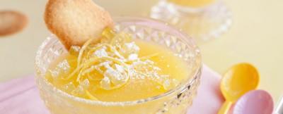 Crema fredda al gusto di limone