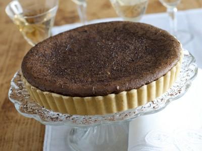 Letto di mandorle e cioccolato per una buonissima crostata