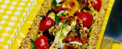 Verdure grigliate e scamorza, connubio perfetto