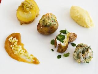 Degustazione di patate Sale&Pepe
