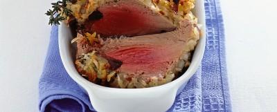 filetto di tonno con contorno di patate ricetta
