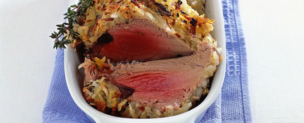 filetto di tonno in crosta di patate Sale&Pepe ricetta