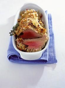 Filetto di tonno in crosta di patate