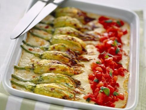 fiori di zucca alla ricotta Sale&Pepe ricetta