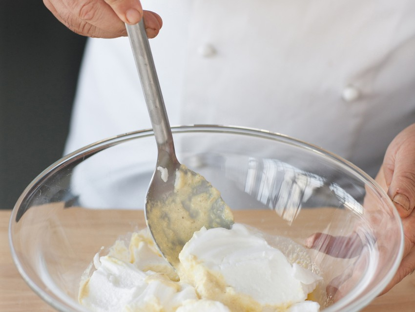 flan di cardi con fonduta di formaggi Sale&Pepe foto
