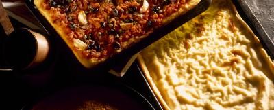 focaccia insaporita al formaggio
