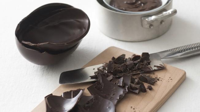 Ganache con le uova di cioccolato Sale&Pepe