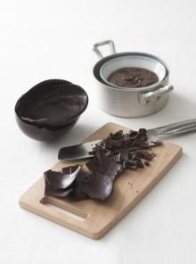 Ganache con le uova di cioccolato
