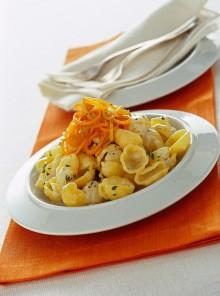Gnocchi con crema di gorgonzola