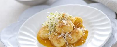 gnocchi con zucca e formaggio ricetta