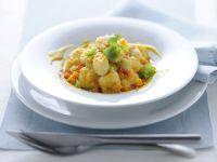 gnocchi di patate con ragù di verdure e glassa di vitello Sale&Pepe