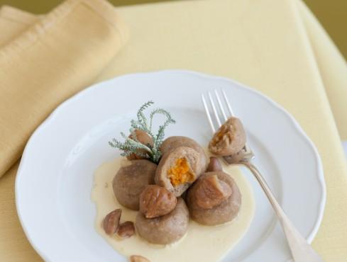 Gnocchi di castagne con zucca Sale&Pepe