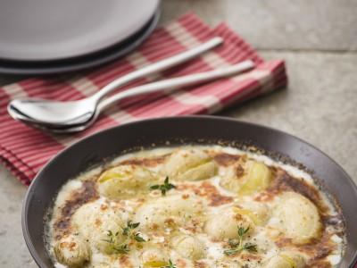 Ricetta gratin di patate e gorgonzola dolce