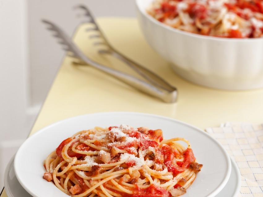 immagine Spaghetti all'amatriciana Sale&Pepe