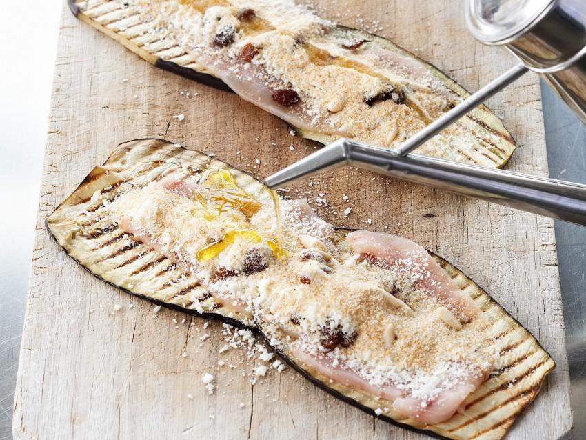 involtini di melanzane e pesce spada Sale&Pepe foto