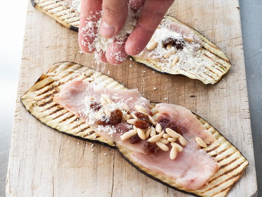 involtini di melanzane e pesce spada Sale&Pepe ricetta