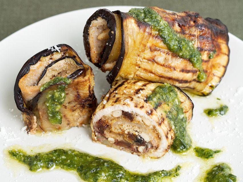 Ricetta involtini di melanzane e pesce spada sale pepe for Melanzane ricette