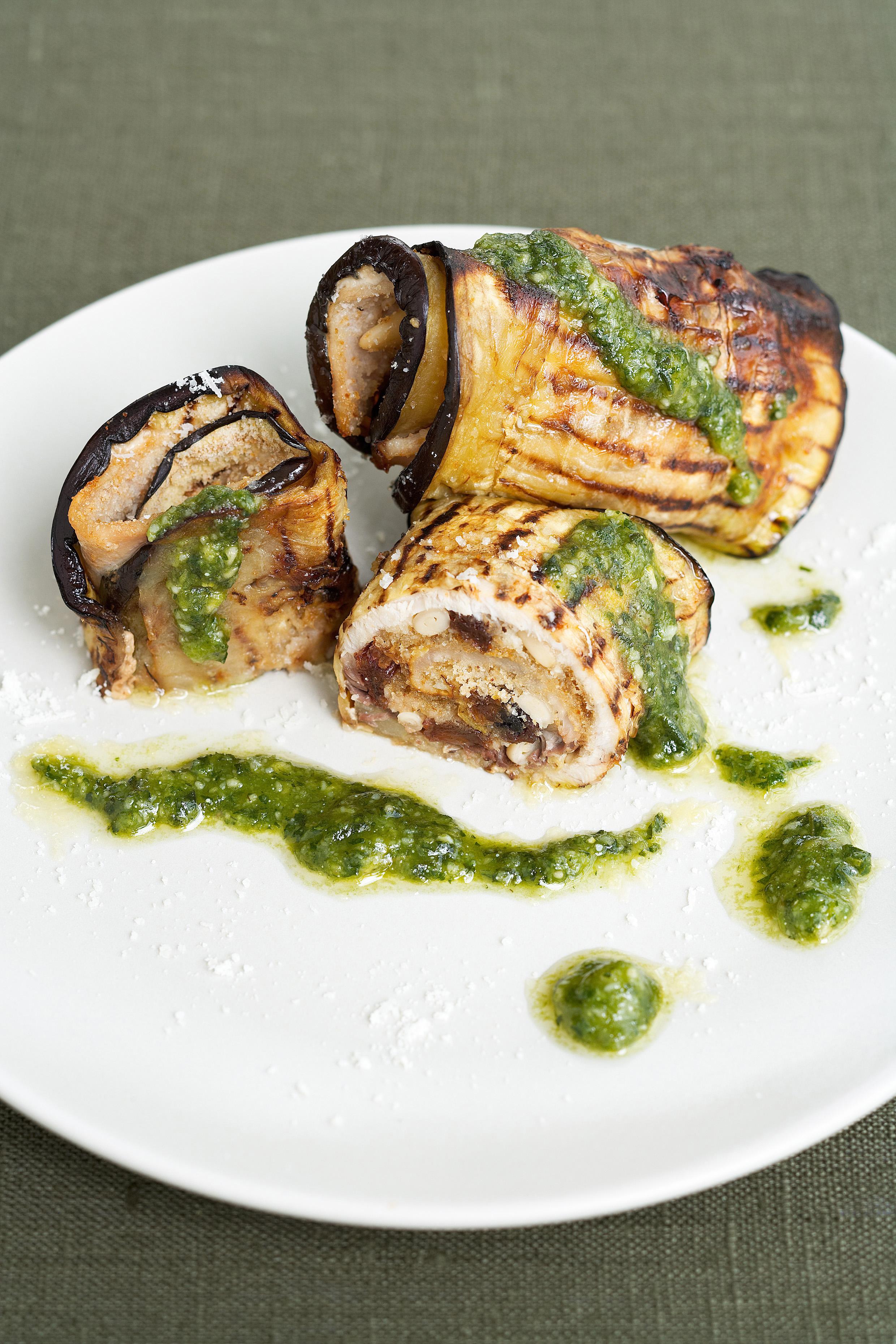 ricetta involtini di melanzane e pesce spada   sale&pepe
