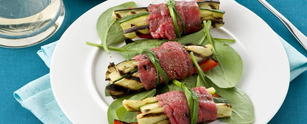 involtini con verdure grigliate Sale&Pepe