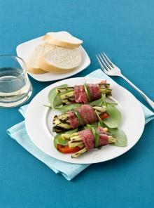 Involtini con verdure grigliate