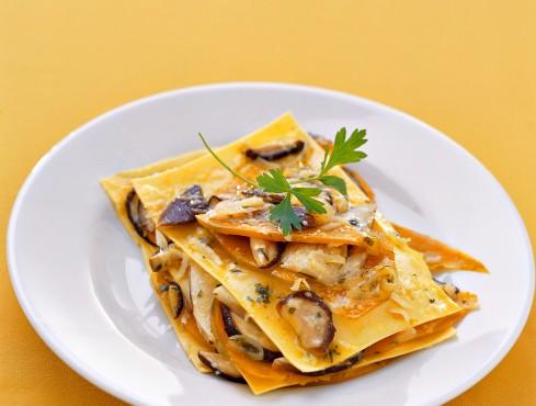 lasagne con i funghi (Lombardia) Sale&Pepe
