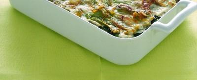 pasticcio con zucchine e fiori ricetta