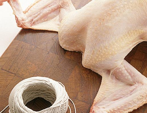 Legare il pollo Sale&Pepe