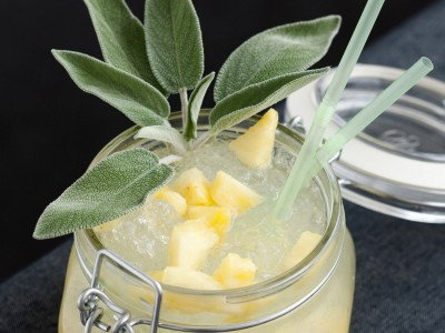 Ricetta del Margarita de Pina preparazione